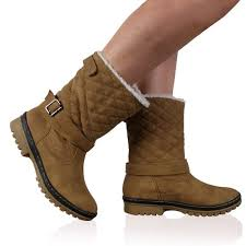 womens boots quilted cheap brown calf boots find brown calf boots deals on line at