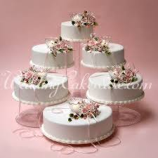 5 tier cake stand free standing wedding cake components included 2 8 inch