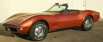 68 stingray corvette 1968 chevrolet corvette c3 production statistics and facts