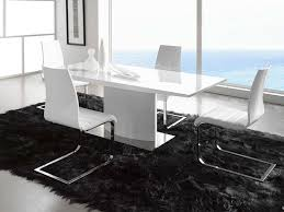 minimalist dining table and chairs luxury white dining room table set 4 home ideas