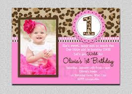 baby 1st birthday invitations drevio invitations design