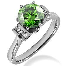 engagement rings green images 2 carat vs1 fancy green diamond engagement ring fancy jpg