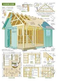 Diy Wood Storage Shed Plans by 31 Best Shed Plans Images On Pinterest Garden Sheds Sheds And