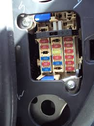 guide to find all the fuses interior fuse box and engine bay fuse