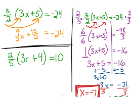 showme solve multi step equations