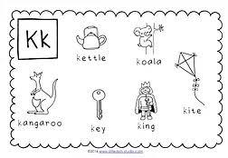 preschool letter k activities and worksheets little dots