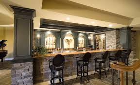 bar amazing basement kitchen and bar ideas home basement bar