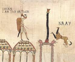 Bayeux Tapestry Meme - image 271354 medieval macros bayeux tapestry parodies