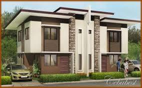modern duplex houses