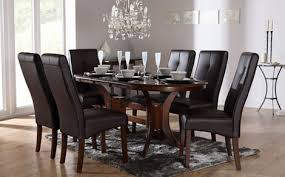 black and brown dining room sets for well black and brown dining