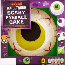 tesco halloween eyeball party cake compare prices buy