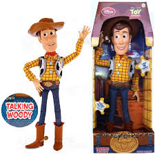 authentic disney store pull string toy story cowboy woody talking