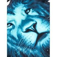 3d galaxy lion print pullover sweatshirt colormix xl in hoodies