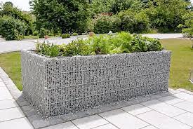 Gartengestaltung Mit Steinen Gabionen Hochbeet Large Mw 25 200 Mm Steine Im Garten Shop