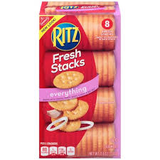 cours de cuisine ritz ritz everything crackers fresh stacks 11 8oz target