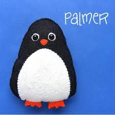 palmer felt penguin pattern penguins teddy and felting