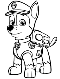 free printable paw patrol coloring pages kids print