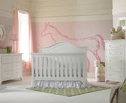 Convertible White Crib Catania Nursery Furniture Collection Tiamo