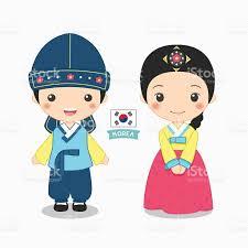 Korea Flag Icon Korea Clipart Korean Boy Pencil And In Color Korea Clipart