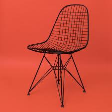 Eames Chair 100 Original Charles Eames Herman Miller Wire Mesh Side Chair