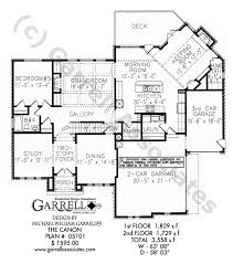 Federal Style House Plans Canon House Plan House Plans By Garrell Associates Inc