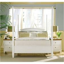 181 378w american drew furniture eastern king poster bed white