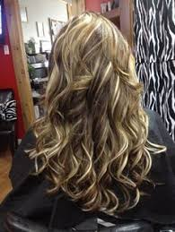 long blonde hair with dark low lights long blonde hair with red highlights google search hair