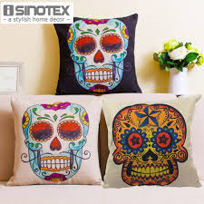 online buy wholesale skull u0026 39 cushions home decor from china