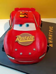 lightning mcqueen cake 3d lightning mcqueen car cake template free search