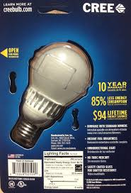 Led Light Bulb Reviews by Cree Soft White Led Bulb Review Exclusive Cleantechnica