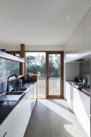 architecture house interior seems bright due to glass door and