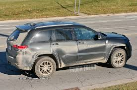 wagoneer jeep 2017 refreshed 2017 jeep grand cherokee spied