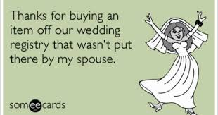 wedding registry deals thanks for buying an item our wedding registry that wasnt put