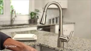 moen one touch kitchen faucet delta chrome low arc kitchen faucet medium size of