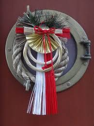 Japanese New Year Door Decoration by