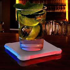 color changing light up drink coasters