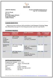 Sample Resume Computer Engineer by Sample Resume For Freshers In Computer Science Templates