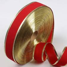 ribbon with wire popular wired metallic ribbon buy cheap wired metallic ribbon lots