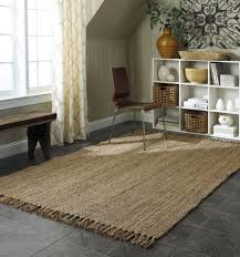 Jute Outdoor Rugs Accessories Attractive Home Depot Jute Rug For Modern Middle Room