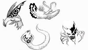49 tribal pokemon tattoos designs
