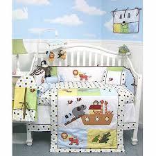 Noah S Ark Crib Bedding Noah Ark Baby 14 Crib Nursery Bedding Set Walmart