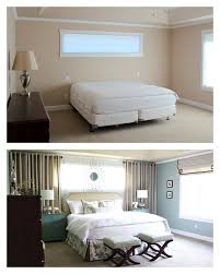 Open Those Curtains Wide Master Bedroom Reveal Curtains Around Bed Mirrors Above Long