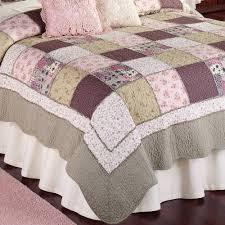 sugarplum cotton floral patchwork quilts