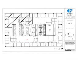 Floor Plan Of A Bank by Td North Tower Suite 2101