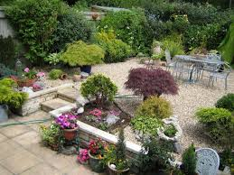 Backyard Plants Ideas Backyard Garden House Design With Potted Plants And Flowers Plus