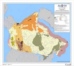 Gas Map Canada In The Arctic Arctic Oil And Gas Reserves Activities