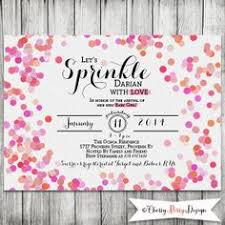 blue baby sprinkle shower invitation blue by happyheartprinting