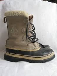 boots canada vintage sorel kaufman made in canada insulated winter boots 8