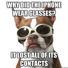 Eye Doctor Meme - why did the iphone wear glasses very funny we love optical humor
