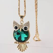 birthstone necklace peridot owl august birthstone necklace bold and honest